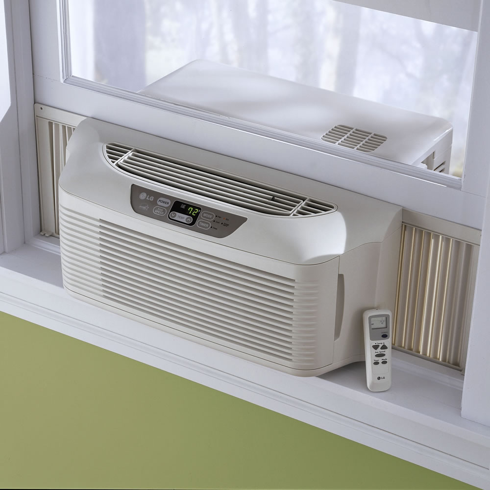 The efficient slim profile window air conditioner for Window unit ac