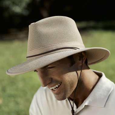 The Ventilated Brimmed Hat.