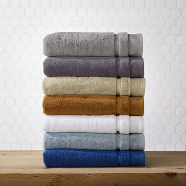 The Plush 900 Gram Genuine Turkish Towels.