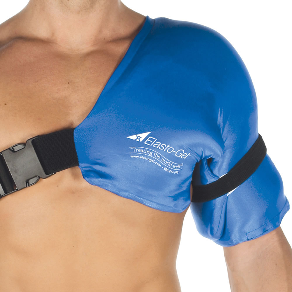 The Physical Therapist's Hot/Cold Shoulder Wrap (Sm/Med) 1