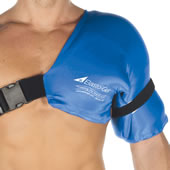 The Physical Therapist's Hot/Cold Shoulder Wrap (Sm/Med).