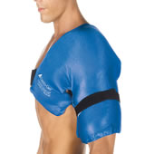 The Physical Therapist's Hot/Cold Shoulder Wrap (Large/XL).