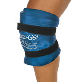 The Physical Therapist's Hot/Cold Knee Wrap.