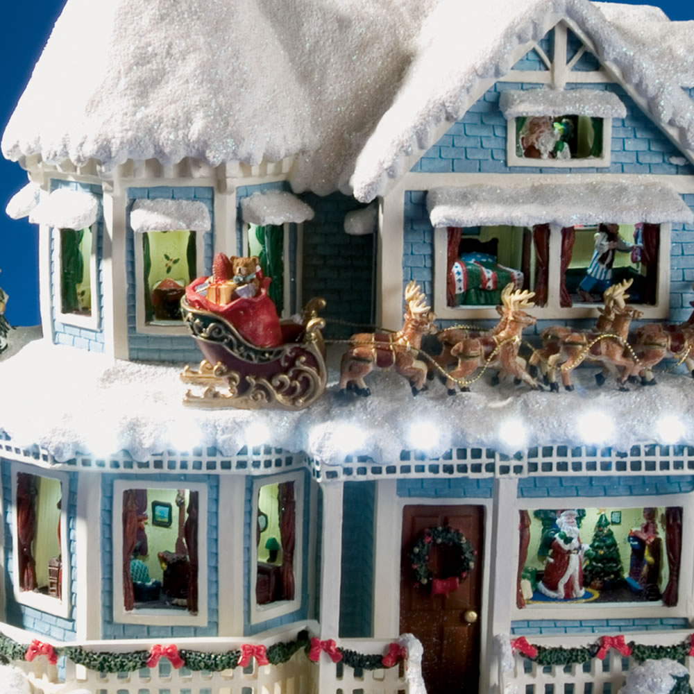 The Thomas Kinkade Christmas Talking House2