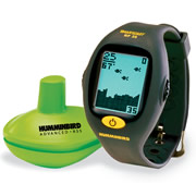 The Wrist Strap Fish Finder.