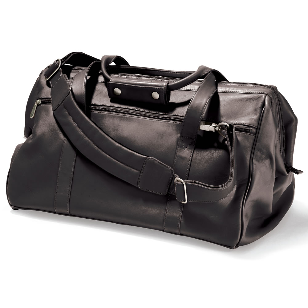 The Widemouth Leather Weekend Bag5