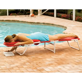 The Ergonomic Beach Lounger.