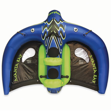 The Flying Manta Ray Inflatable.