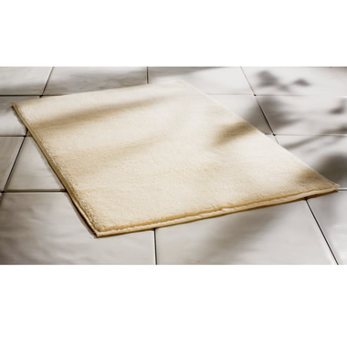 The Most Absorbent Cotton Bath Mat.