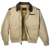 The Classic A-2 Cotton Bomber Jacket.