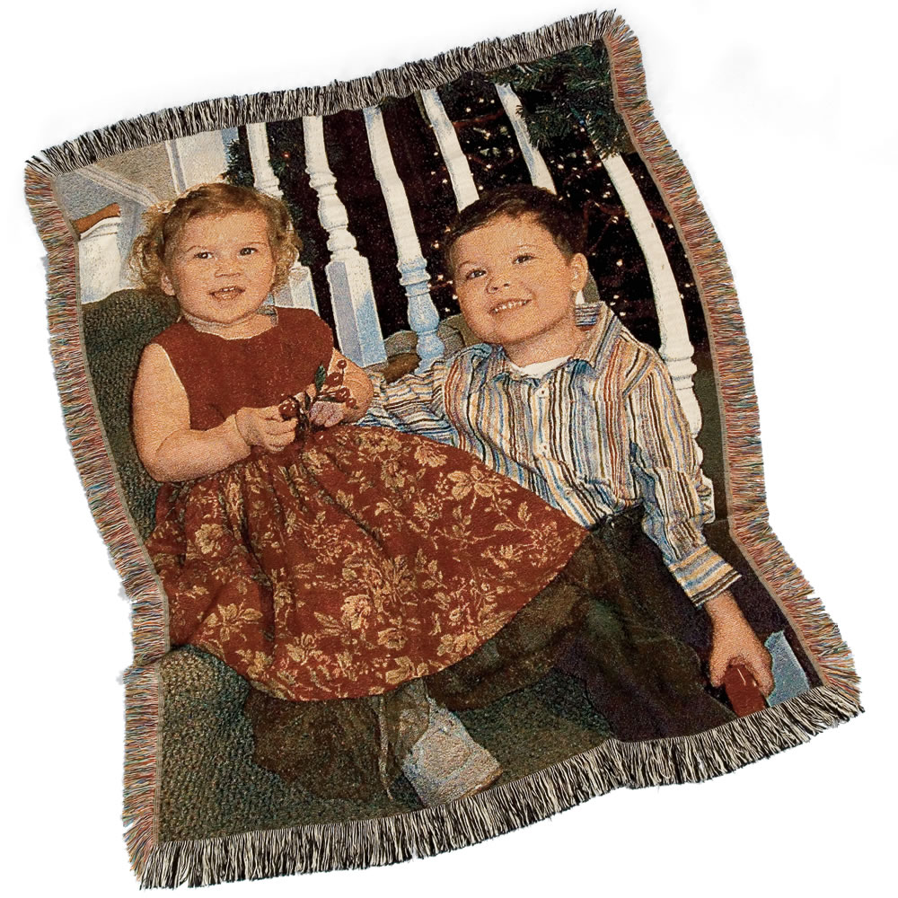 The Woven Photographic Throw 1