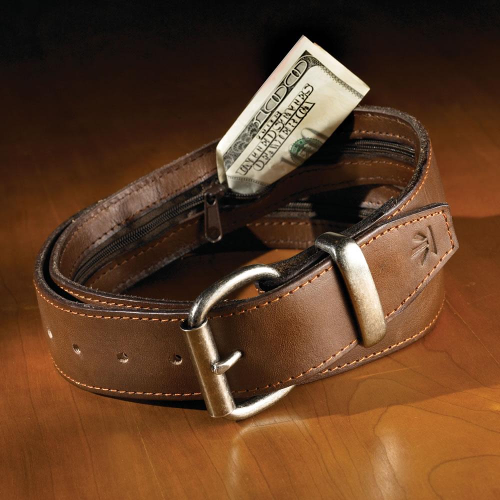 The Hidden Pocket Belt Hammacher Schlemmer