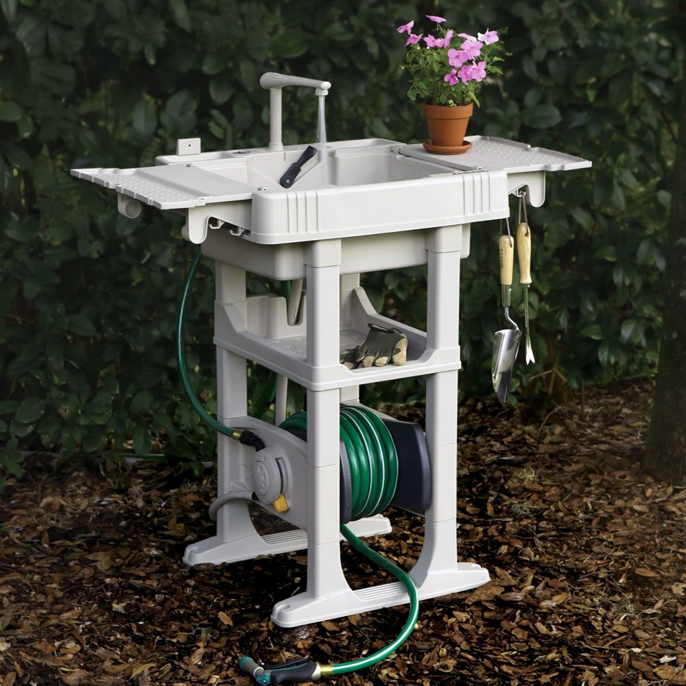 Outdoor Garden Sink Station images