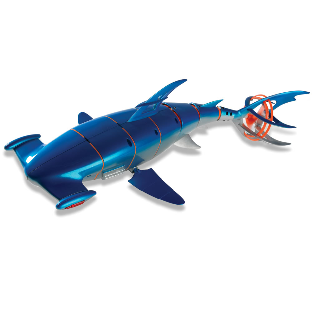 The Remote Controlled Robotic Hammerhead Shark Hammacher