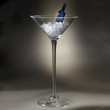 The Giant Martini Glass Chiller