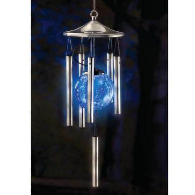 The Solar Light Show Wind Chime.