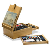 The 104 Piece Easel Set.