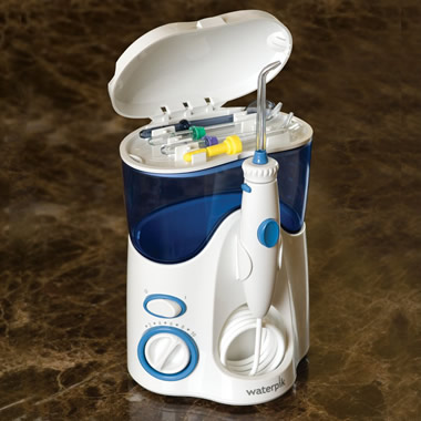 The 1,200 Pulse/Minute Water Dental Flosser