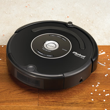 The Seven Day Programmable Robotic Vacuum.