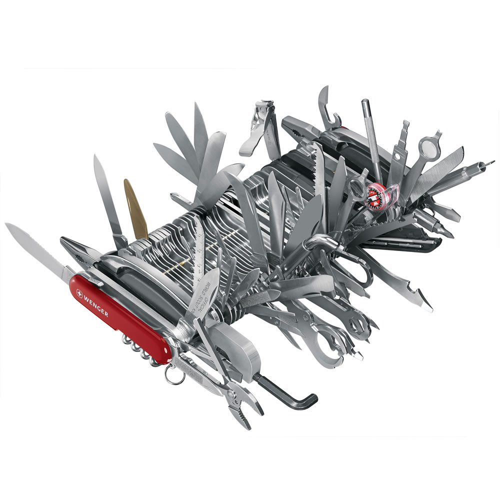 Largest swiss army knife in the world