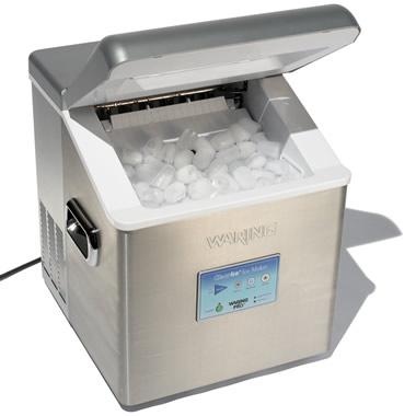 The High Capacity Countertop Ice Maker - Hammacher Schlemmer