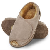 The Adjustable Sheepskin Slippers (Men's).