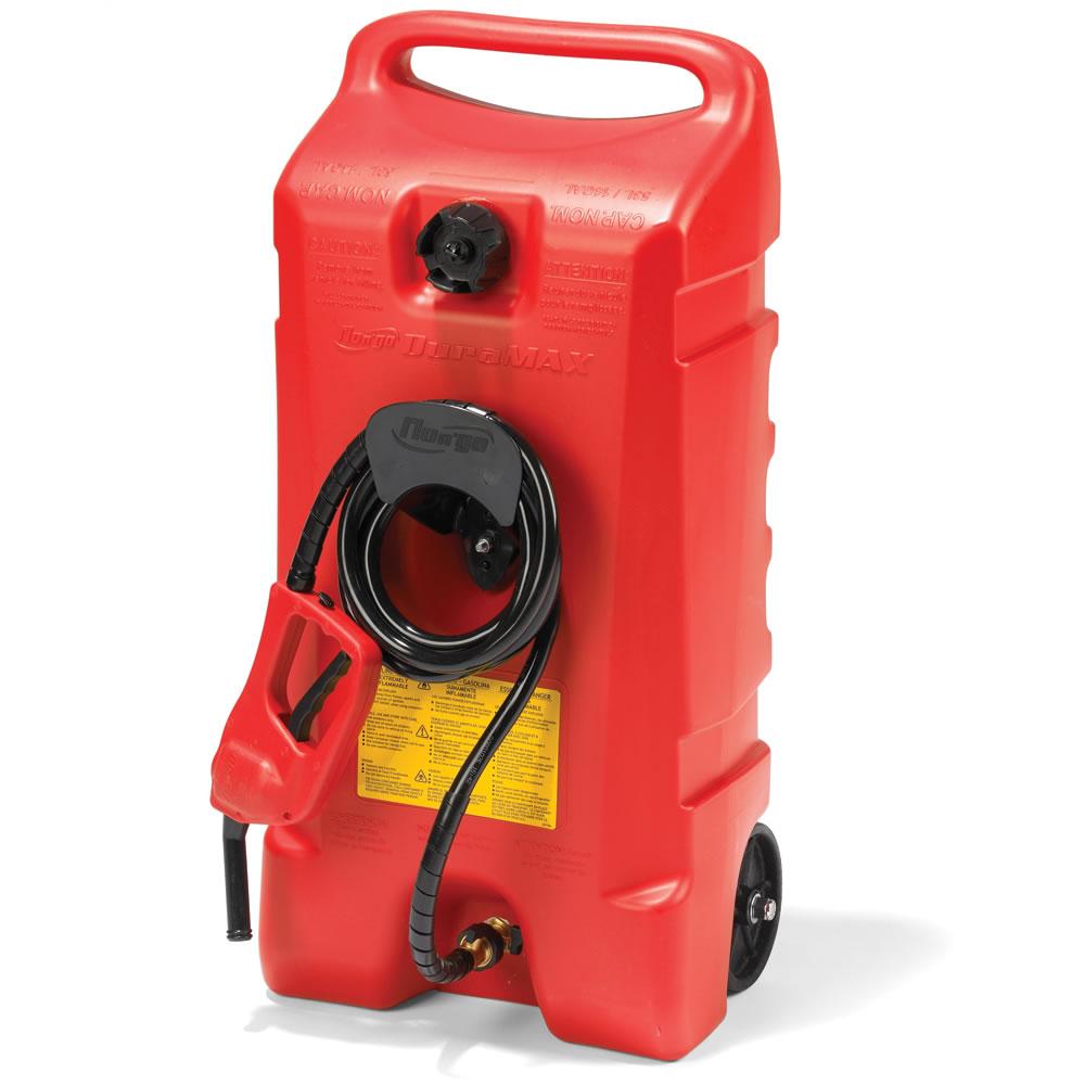 The 14 Gallon Portable Gas Pump Hammacher Schlemmer