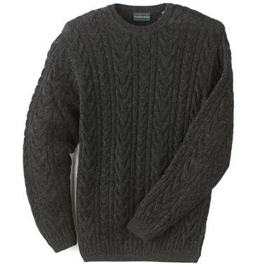 The Genuine Baby Alpaca Sweater.