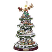 The Thomas Kinkade Animated Holiday Tree
