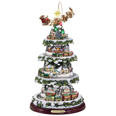 The Thomas Kinkade Animated Christmas Tree