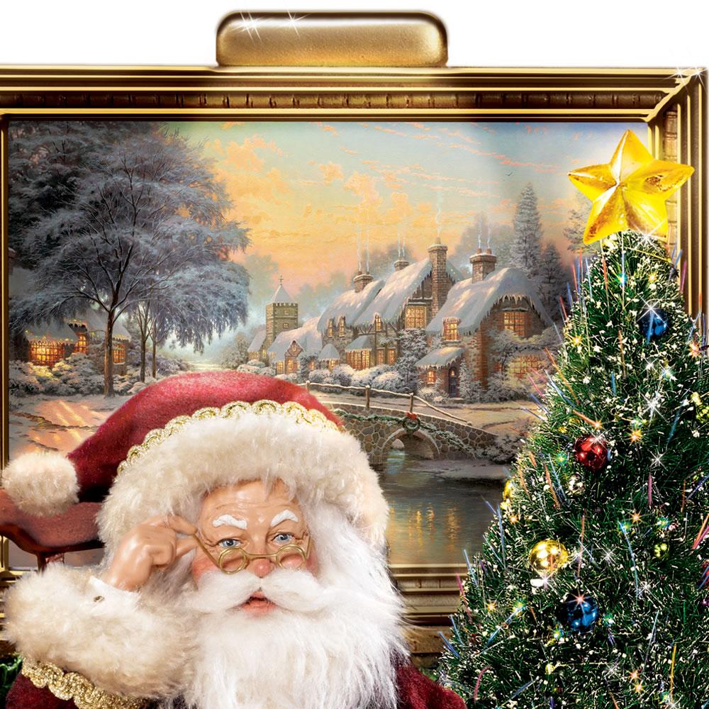 The Night Before Christmas Reciting Santa2
