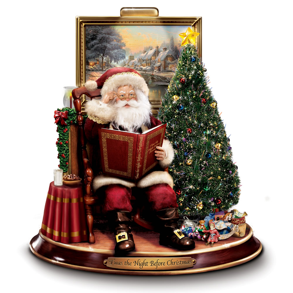 The Night Before Christmas Reciting Santa1