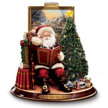 The Night Before Christmas Reciting Santa