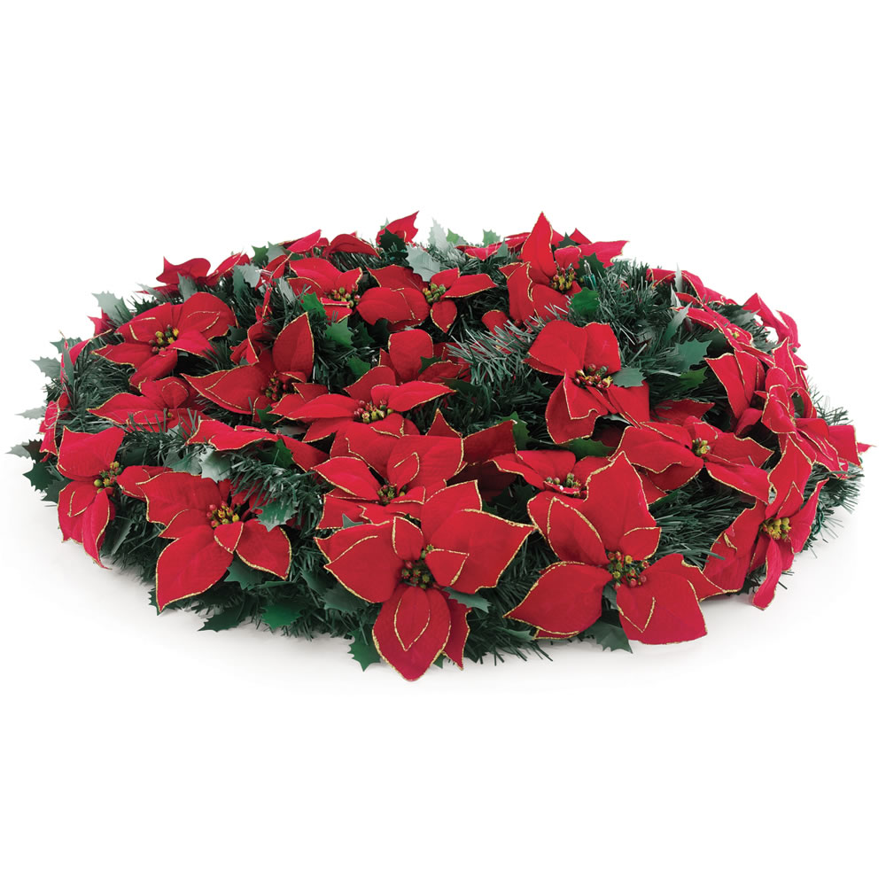 The 6 Foot Pop-Up Poinsettia Tree 2