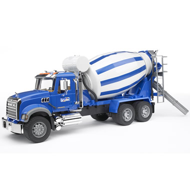 The Working Mack Cement Truck.