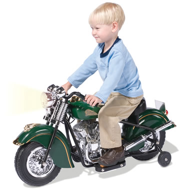 The Children's Electric 1948 Indian Motorcycle.