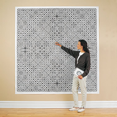 The World's Largest Crossword Puzzle.