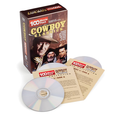 The 100 Classic Westerns DVD Collection.