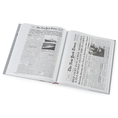 The Complete New York Times Front Pages (2008).