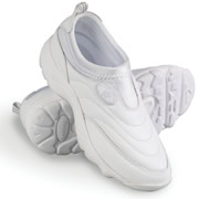 The Washable Leather Walking Shoes (Women's).