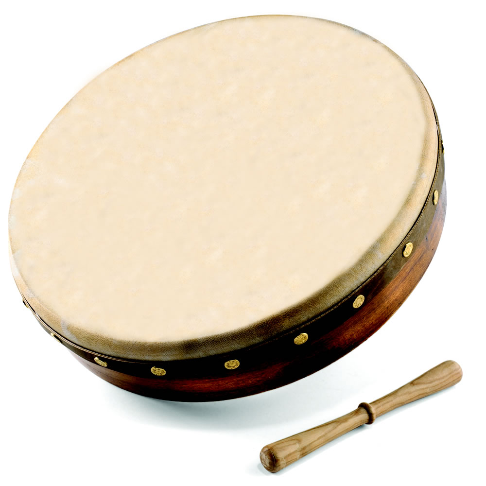 The Genuine Irish Bodhran Hammacher Schlemmer