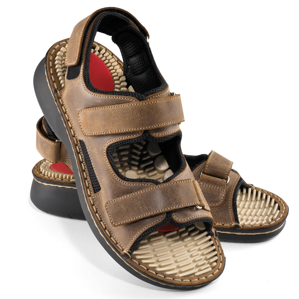 The Reversible Insole Massage Sandals 1