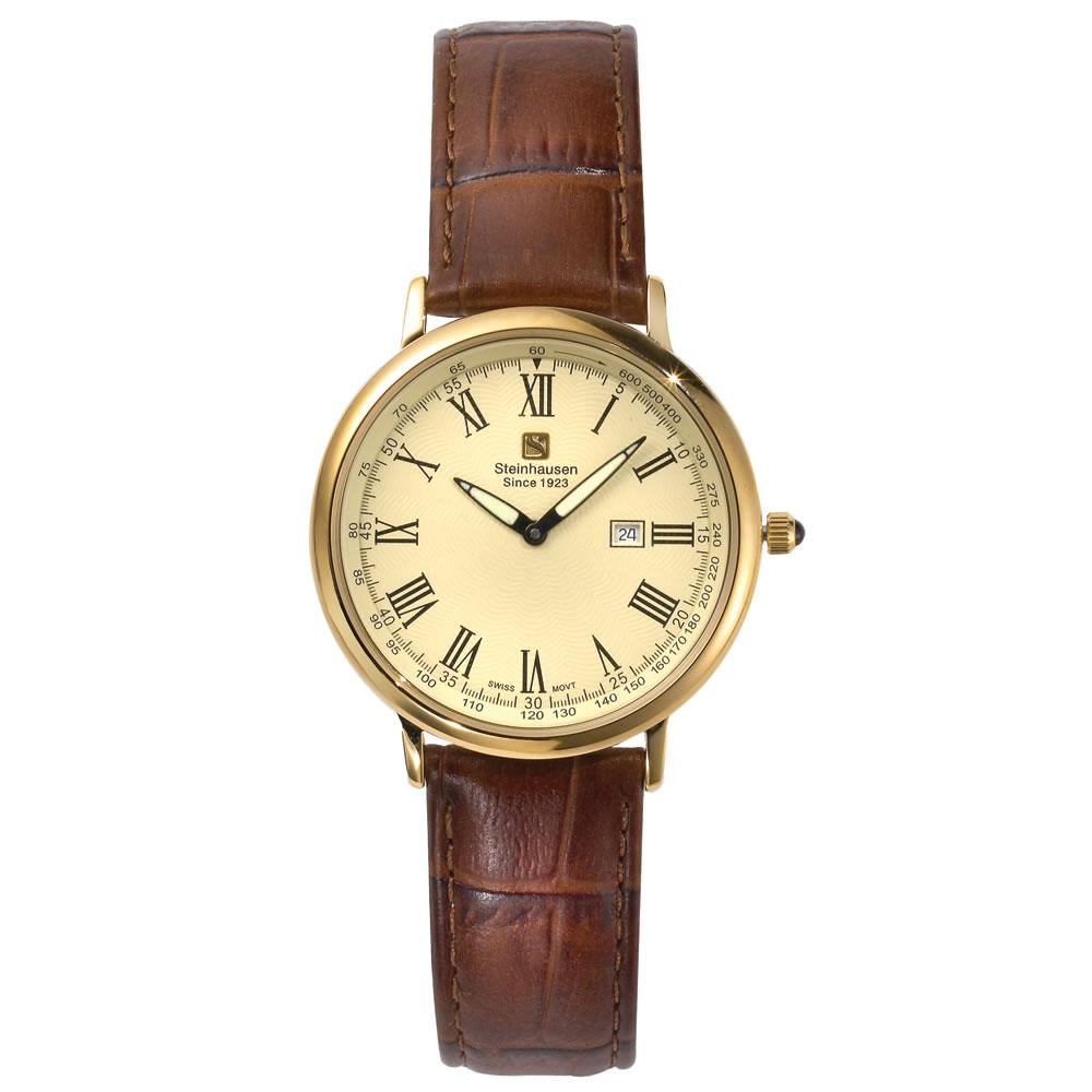 The World's Thinnest Calendar Watch (Gold) 1