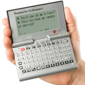 The Talking 30 Language Handheld Translator.