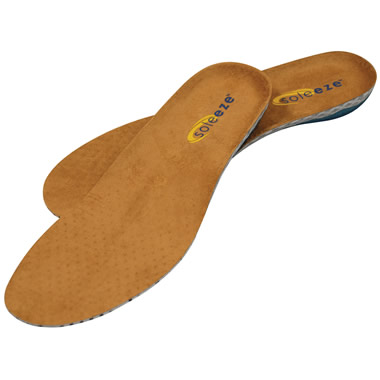 The Spring Loaded Insoles (Dress Shoes).