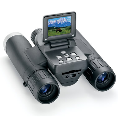 The Synchronized Focus Digital Camera Binoculars.