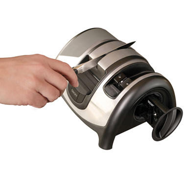 The Knife And Shears Electric Sharpener.