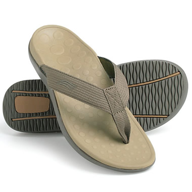 The Plantar Fasciitis Orthotic Sandal.
