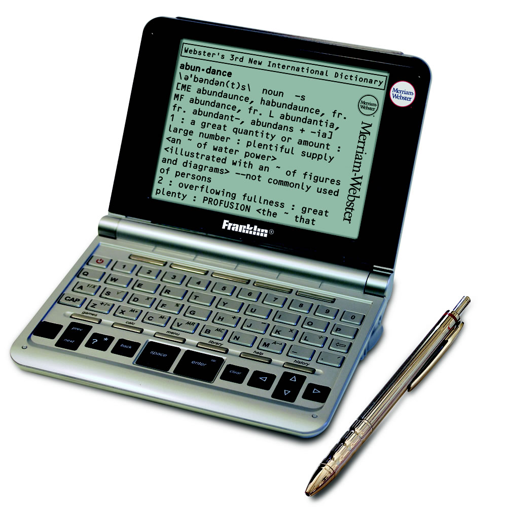 How to write an electronic dictionary