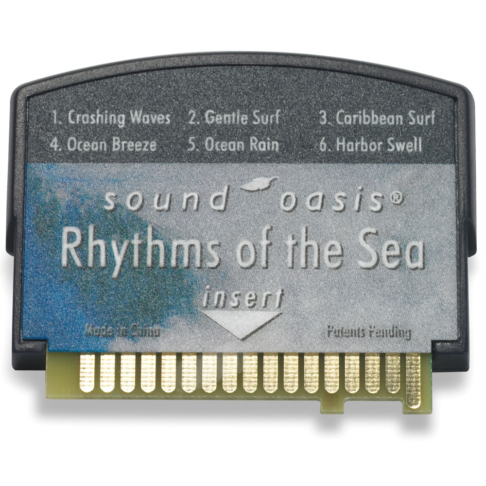 Sounds for Sleep Card for The Authentic Sound Oasis Machine 2
